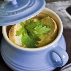 Francuska kremowa zupa cebulowa