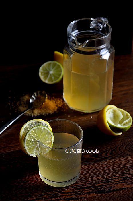 Lemoniada cytrynowo-limonkowa / Lemon and lime lemonade
