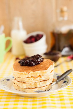Migdałowe pancakes