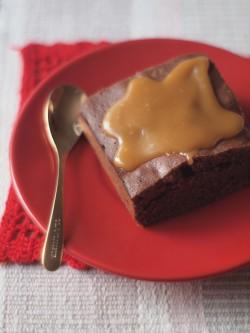 najlepsze brownie, najlepszy sos miodowy