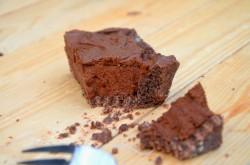 Tarta: gorzka czekolada