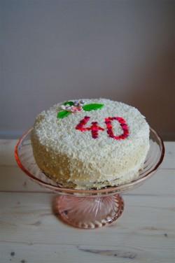 tort kokosowo-brzoskwiniowy