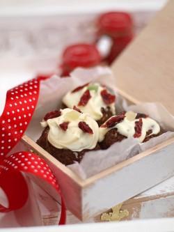 Świąteczne ptifurki puddingowe