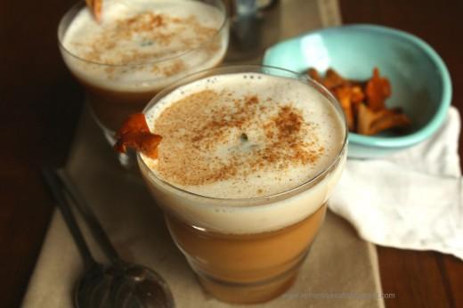 zupa cappuccino z kurek – cappuccino chanterelle soup