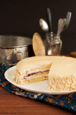 Almond Opera Cake