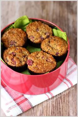Beztłuszczowe muffiny z kaszy jaglanej