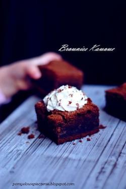 Brownies kawowe