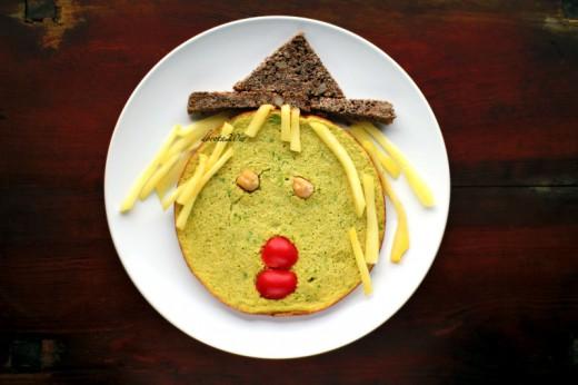 Brukselkowy omlet Czarownica
