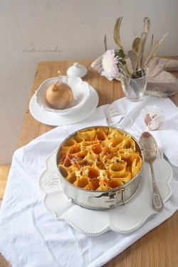 Cannelloni with prosciutto