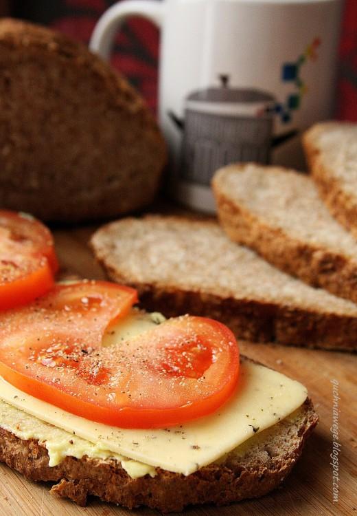 Chleb orkiszowy z mieszanki Gdańskie Młyny