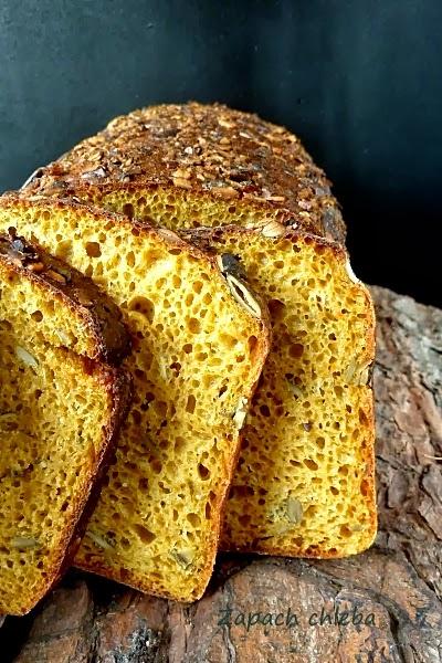 Chleb żytni dyniowy na zakwasie