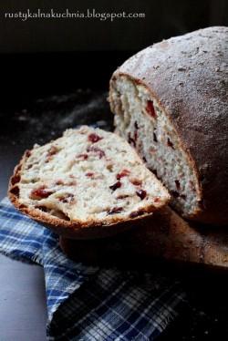 Chleb z żurawiną