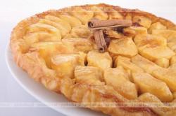 Ciasto francuskie z owocami