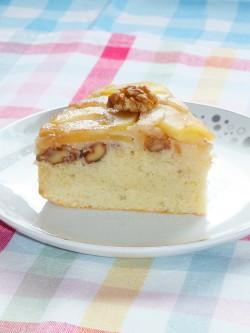 Ciasto Odwracane z Jabłkiem i Gruszką