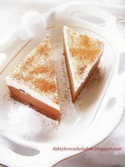 Ciasto z czekoladowym kremem