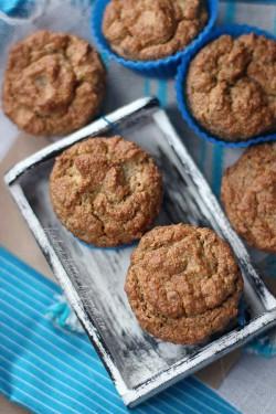 Dietetyczne muffiny. Bez cukru, mąki i tłuszczu.
