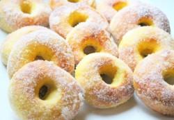 dyniowe doughnuts z kardamonem