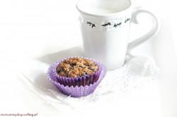 Everyday cooking: Razowe muffinki z jagodami