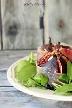 Figi doskonałe. Z mozzarellą i szynką parmeńską.