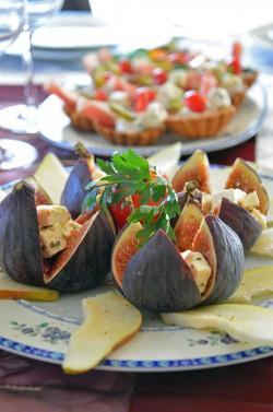 Figi na słodkich gruszkach