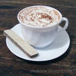 Gorące mleko czekoladowe