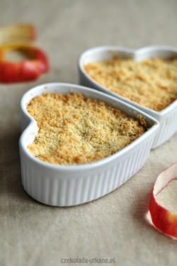 Jabłka i gruszki pod kruszonką (crumble)