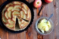 jabłkowe ciasto z cydrem