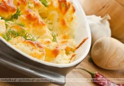 Kalafior zapiekany z żółtym serem-Iwony