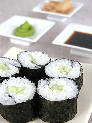 Kappamaki – sushi z ogórkiem