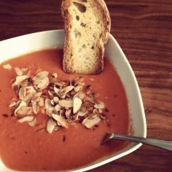 karaibska zupa pomidorowa