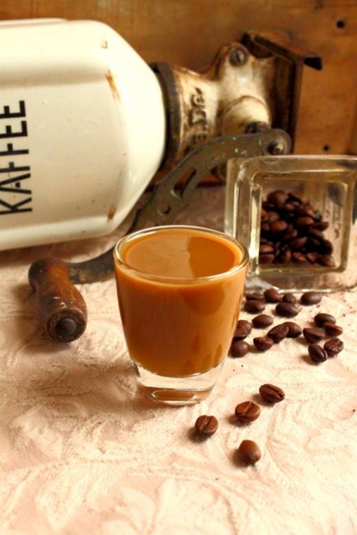 Kawowy likier kremowy