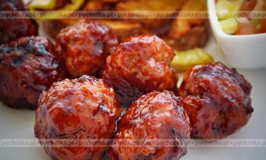 Klopsiki z dzika w sosie pomidorowym
