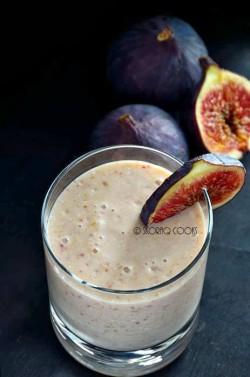 Koktajl figowo-bananowy