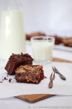 Krówkowe brownies