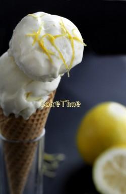 lody cytrynowe bez jajek