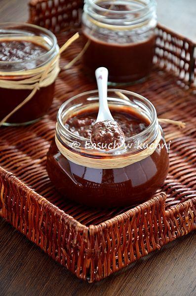 Marmolada rabarbarowa z czekoladą / Rhubarb marmalade with chocolate