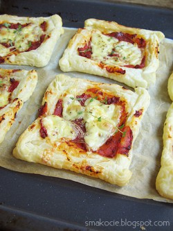 Mini pizze francuskie