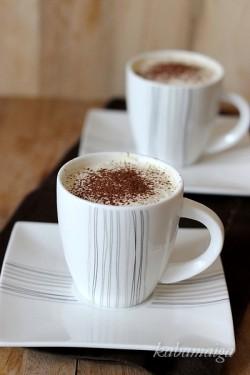 mrożone filiżanki latte