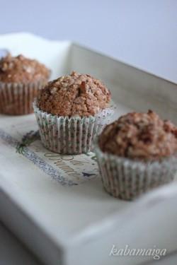 Muffiny jabłkowe z kruszonką