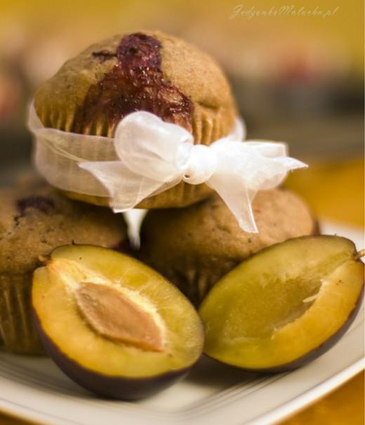 muffiny śliwkowe
