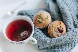 Muffiny malinowo – cytrynowe