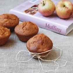 muffiny z jabłkami