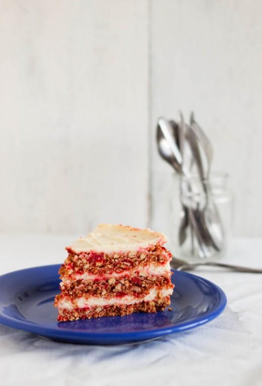 No Bake Red Velvet Cake