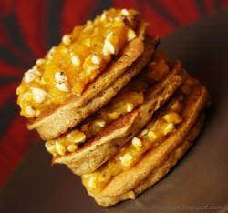 Pancakes korzenne z dynią