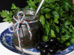 Pasta z czarnych oliwek czyli tapenada