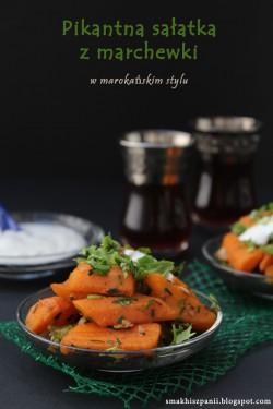 Pikantna sałatka z marchewki