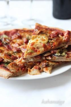 pizza żytnia