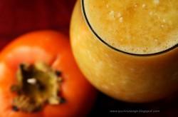 Pomarańczowy deser z tapioki
