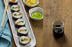 Proste Sushi z Łososiem i Awokado