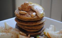 Pszenno-żytnie pancakes dyniowo- cynamonowe